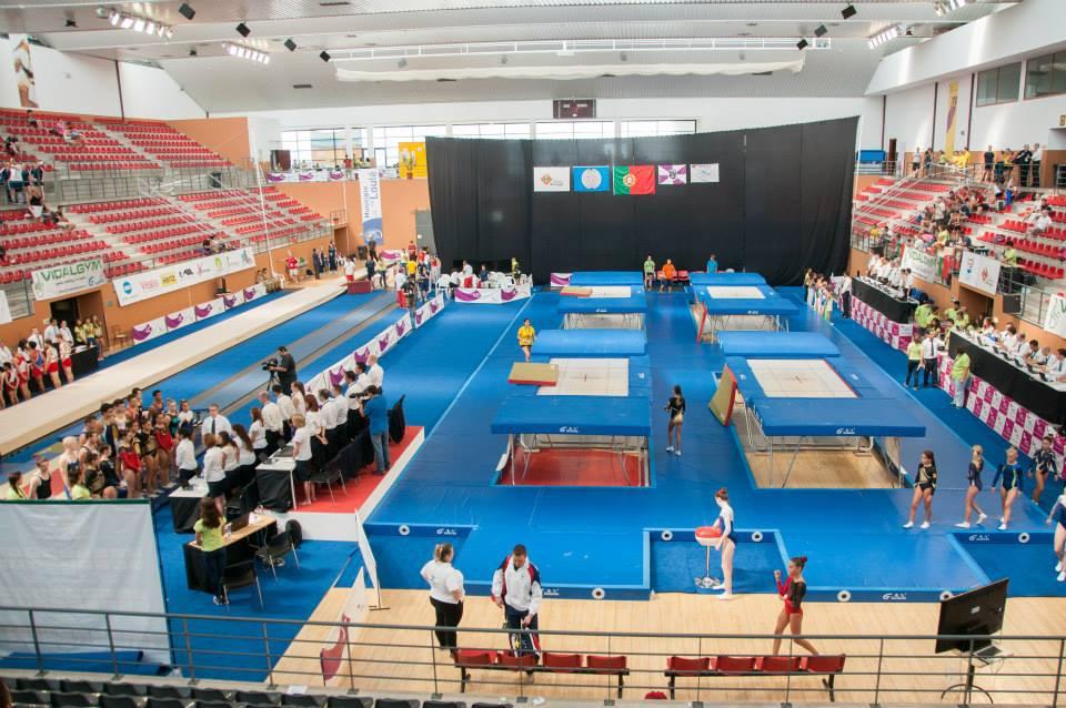 1ª Competição da época 17-18 - Gimno Clube de Santarém
